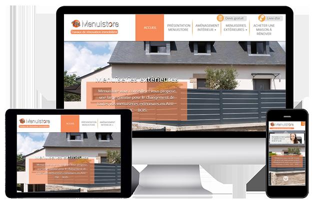 création de sites internet responsive design